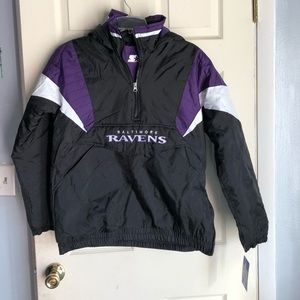 Starter Baltimore Ravens Youth Large